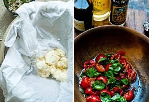tomatoes/paneer