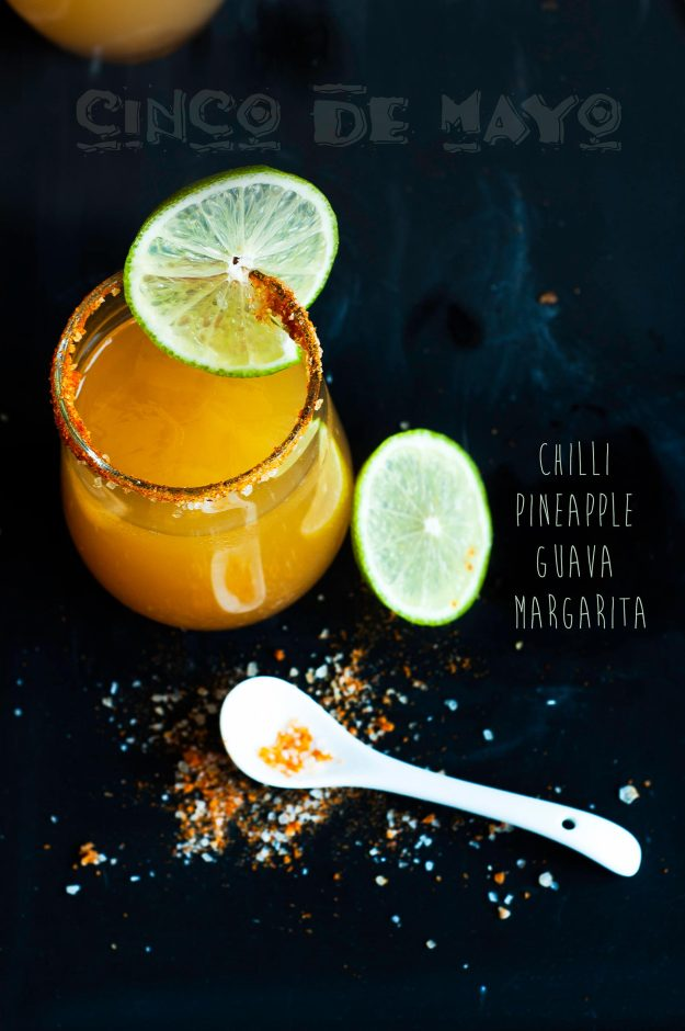 chilli pineapple guava margarita