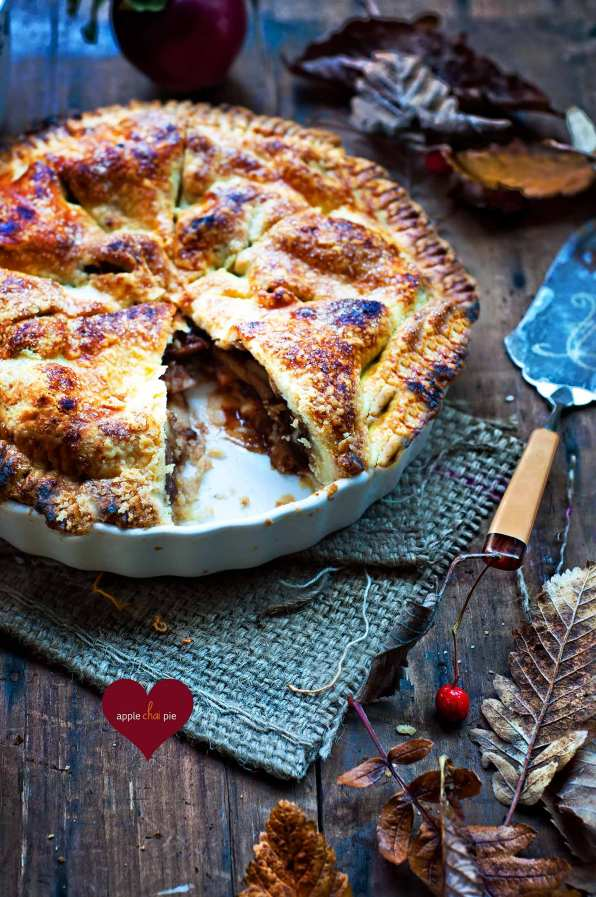 apple chai pie
