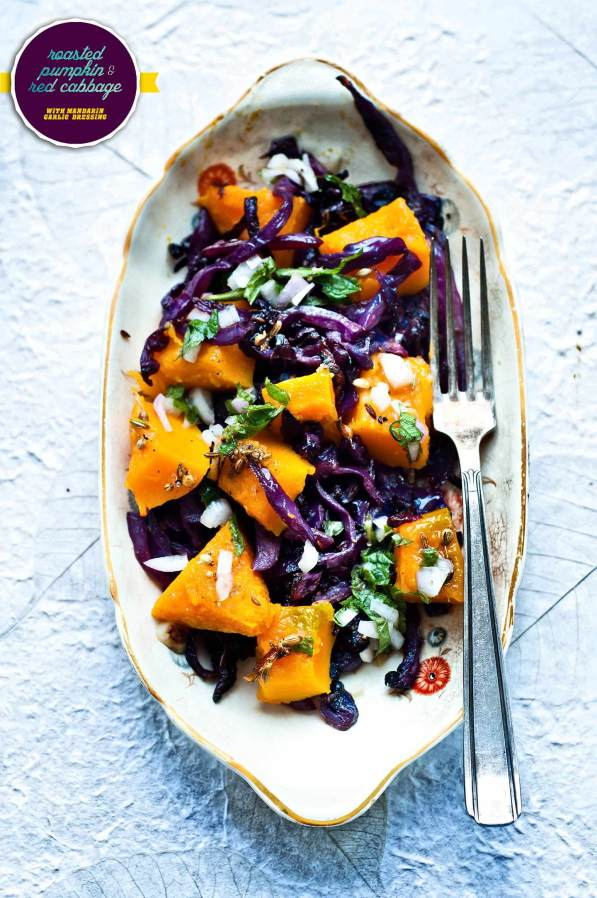 pumpkin red cabbage