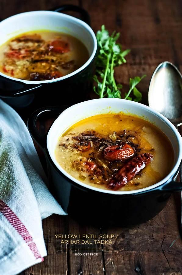 yellow soup