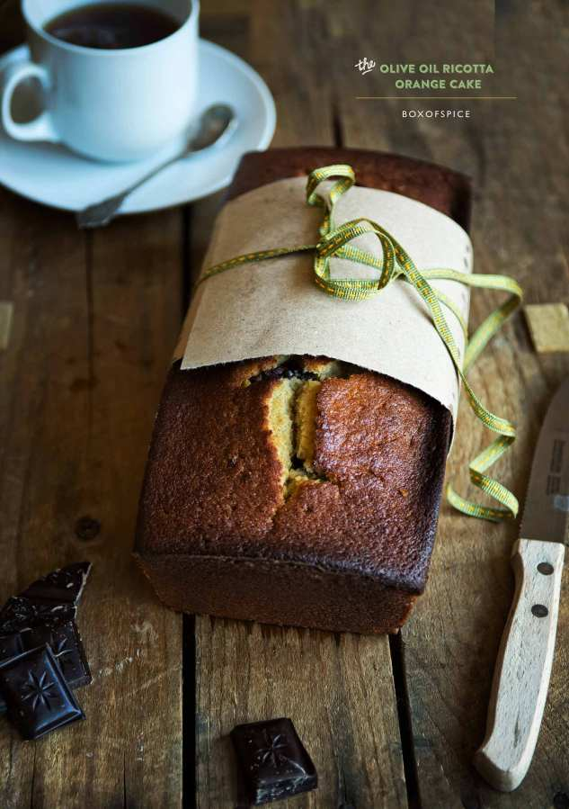 Olive Oil Ricotta Cake