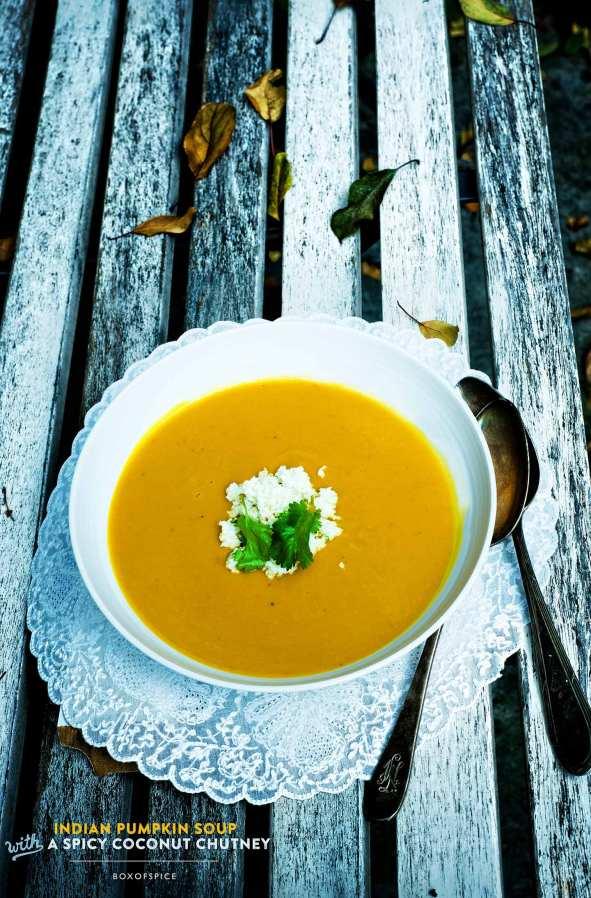 Indian Pumpkin Soup