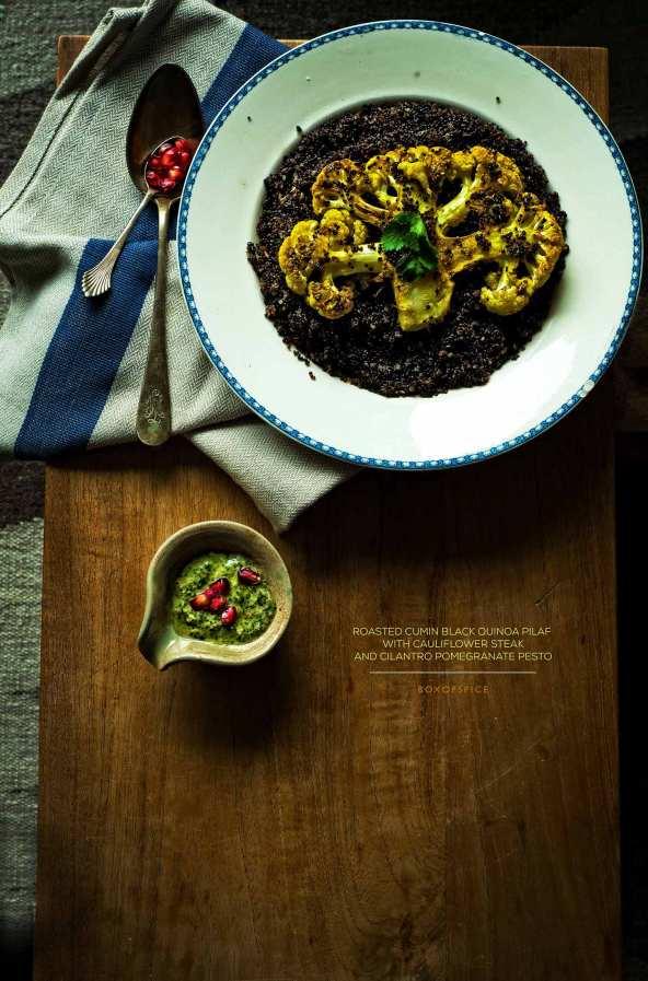 Black quinoa pulao