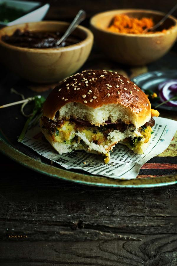 Indian Dutch Burger