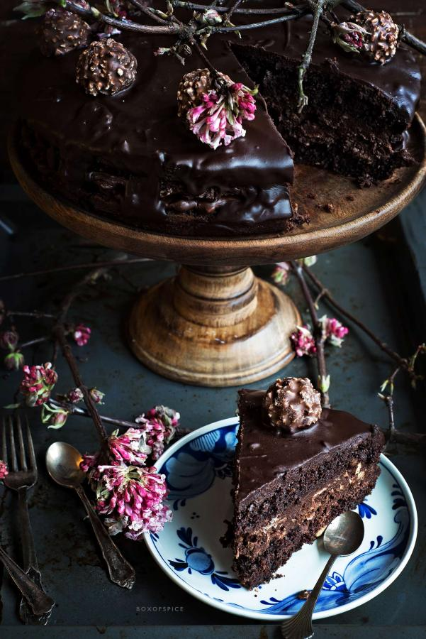 ferrero rocher cake I boxofspice