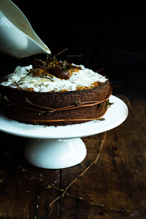 Indian Honey Soaked Cake I Boxofspice