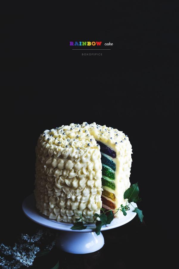 Rainbow Cake I Boxofspice